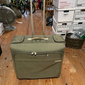 Briggs and Riley large rolling garment bag.
